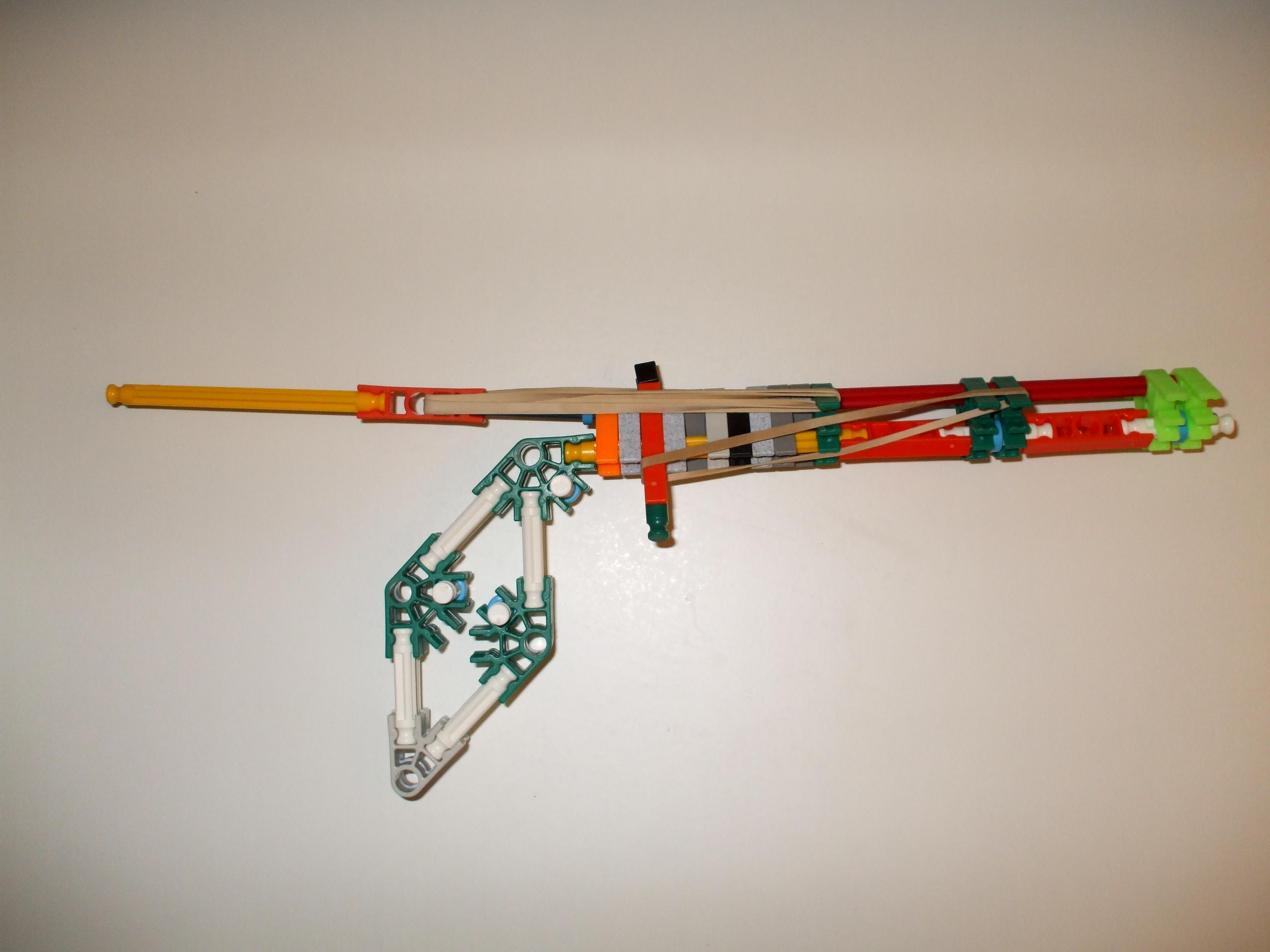 Very Powerful Knex Hand gun (UPGRADE)