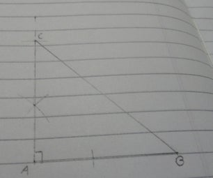 Constructing Rightangled Triangle