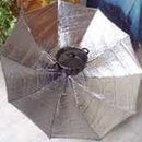 umbrella solar bar-b-q