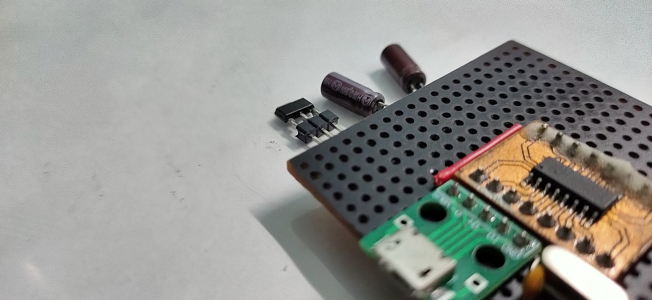 Adding the Power Supply Components