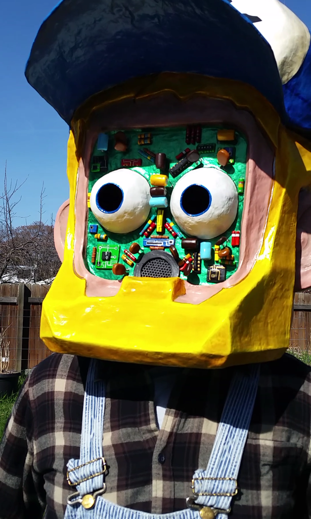 Robot Redneck Mask
