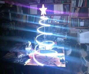 LED Spiral Tree