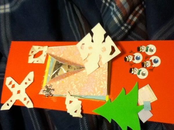Money Gift Card Holder - Window