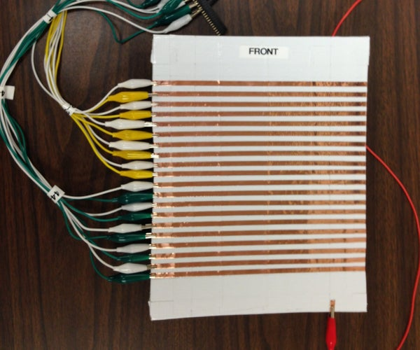 Music Notes Using Low-Tech Capacitive Sensor and RFID