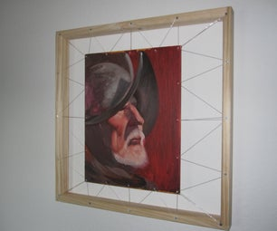 Suspended Picture Frame