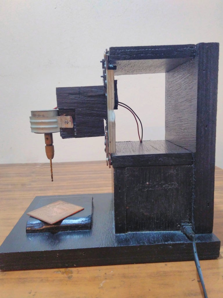 DIY PCB Drill Press Machine