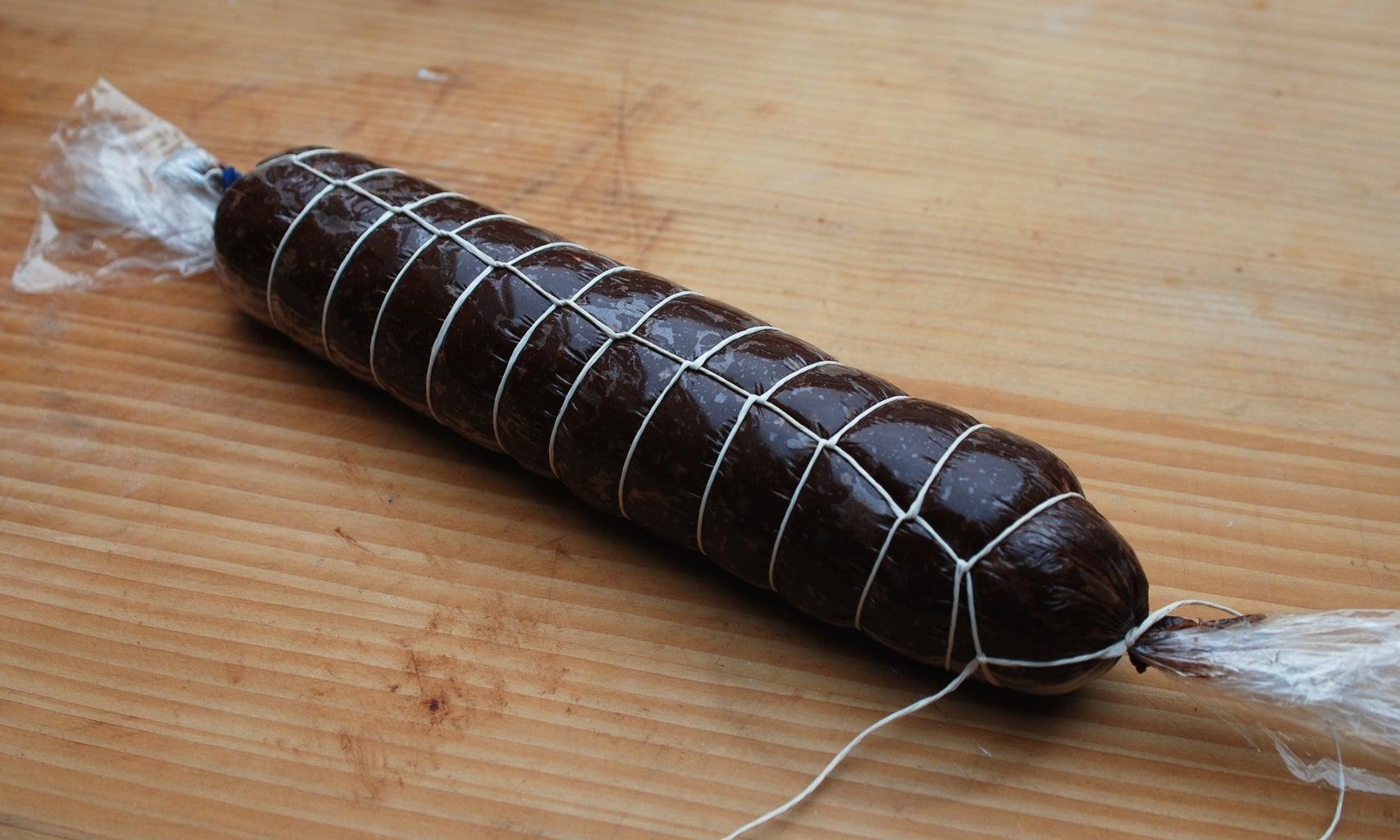 Chocolate Salami - Twine Decoration