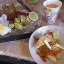 How to make Babakau - Fijian Fried Pancakes - light and delicious!