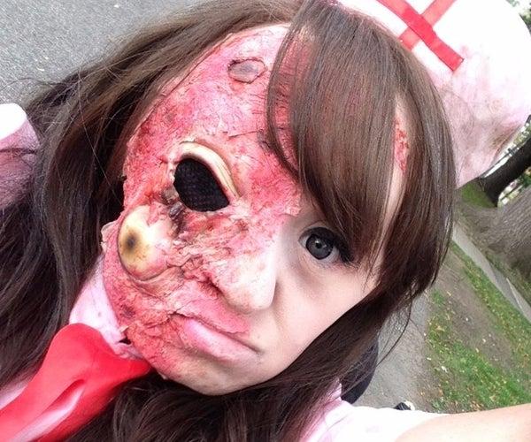 Easy Zombie/Burned Skin Makeup