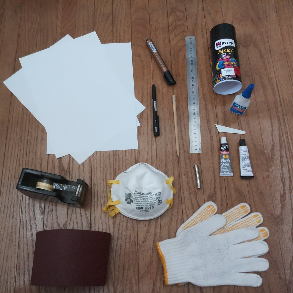 Collect Material and Tools