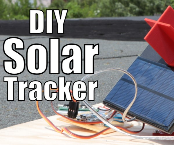 DIY Miniature Solar Tracker