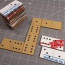 Dominoes From Laser Cut Domino's Box