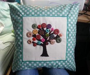 Button Tree Cushion