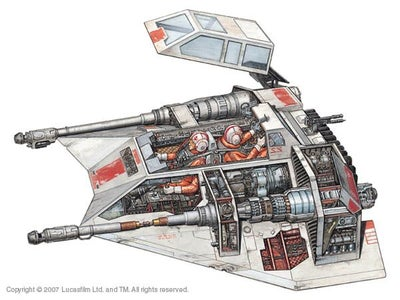 K'NEX Snowspeeder From Star Wars