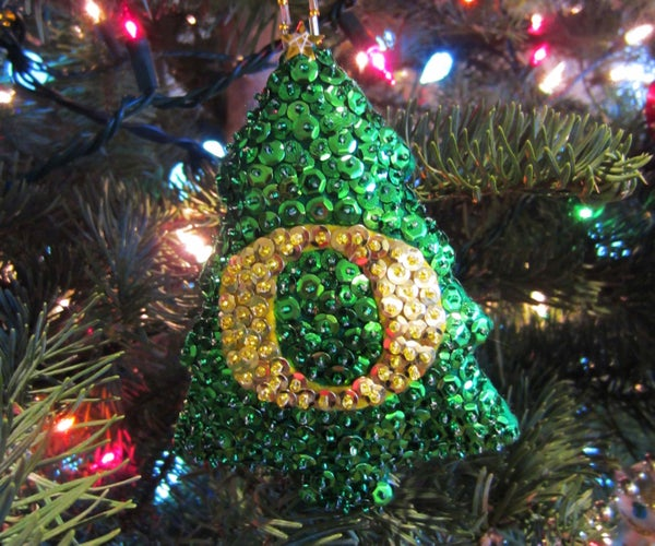 Sequin Christmas Ornament
