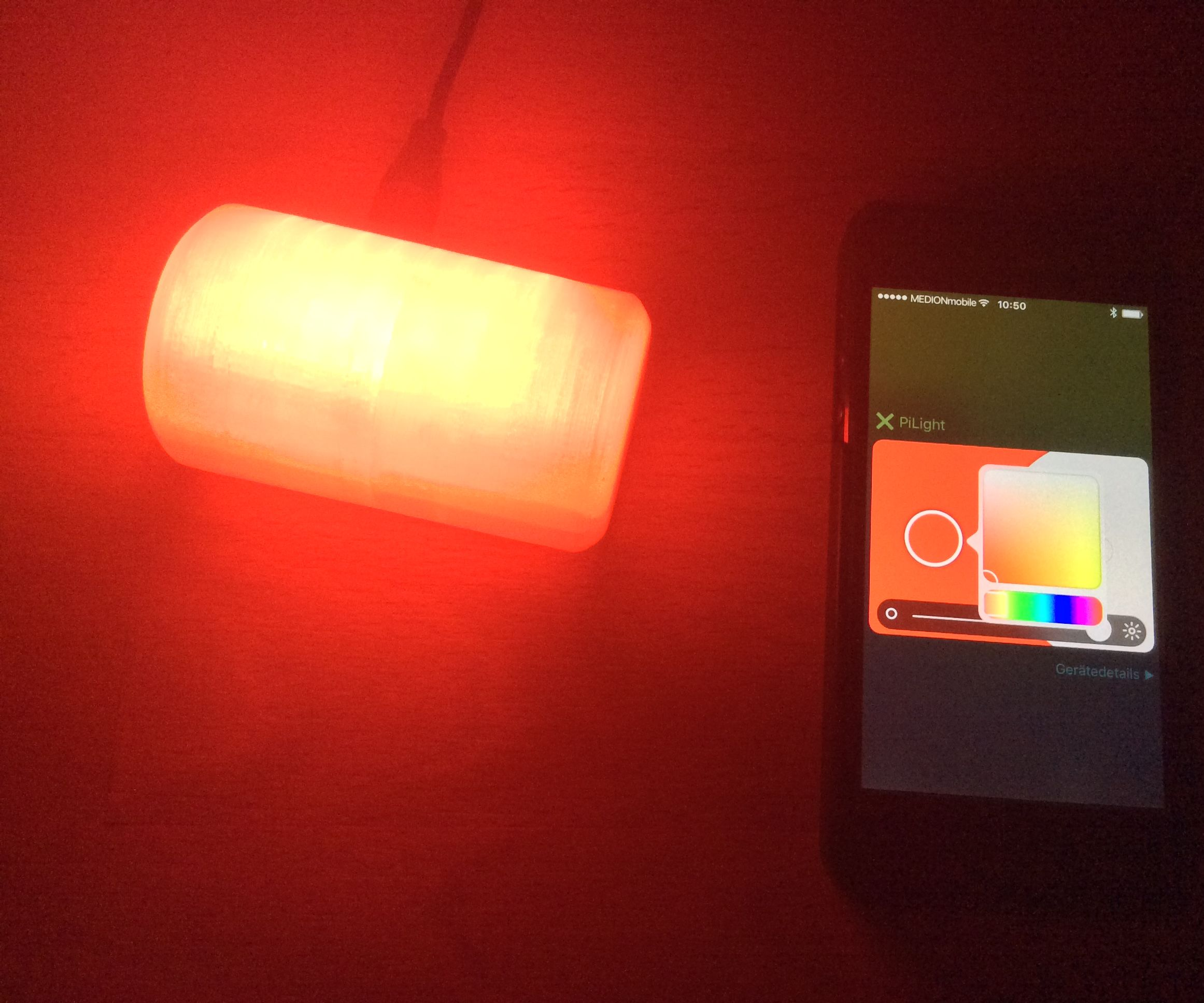 Raspberry Powered Smart Light