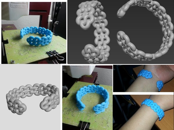 How to Make Your First 3d Printed Round Open Cuff Bracelet!