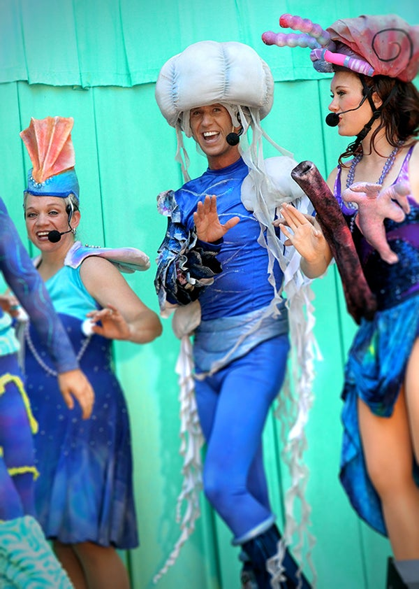 Jellyfish Costume Headpiece