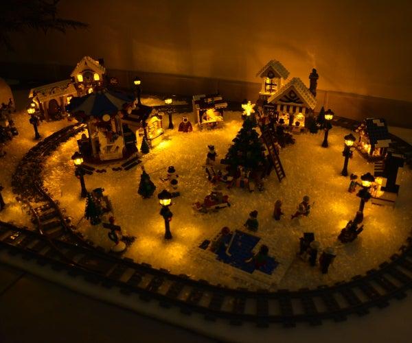 LEGO Street Light & Winter Village