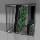 Zero Gravity Gardening Concept for Deep Space Travel