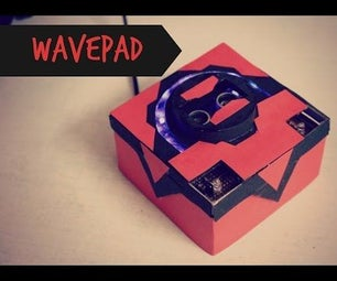 Wavepad - Gesture Controlled Raspberry Pi Music Player