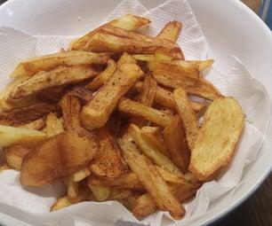 Perfect British Homemade Chips