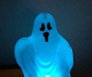 2017 Halloween Cheerlights Ghost (Simple Hardware, Simple Software) & Spooky