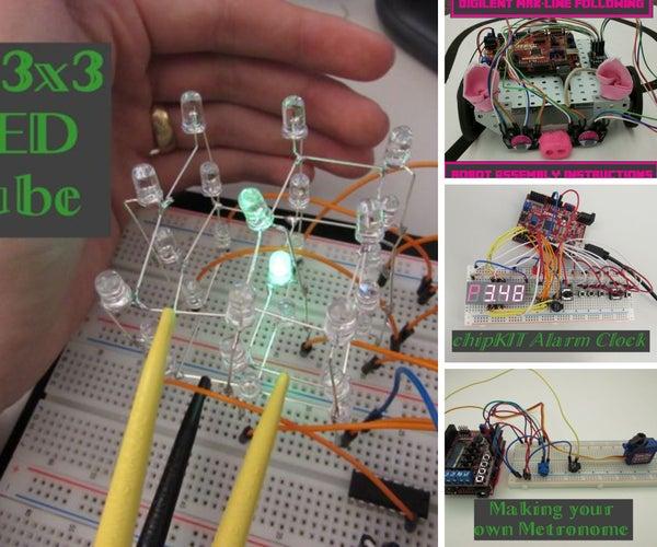 ChipKIT Projects- Digilent MakerSpace