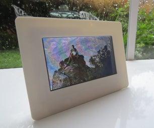 3D Printed Digital Photo Frame