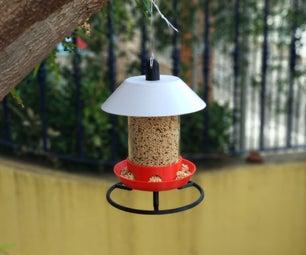 Save the Sparrows. 3D Printed Bird Feeder (Parametric)