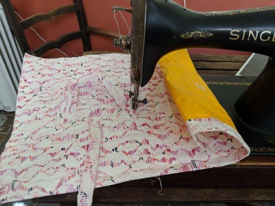 Sewing on Handles