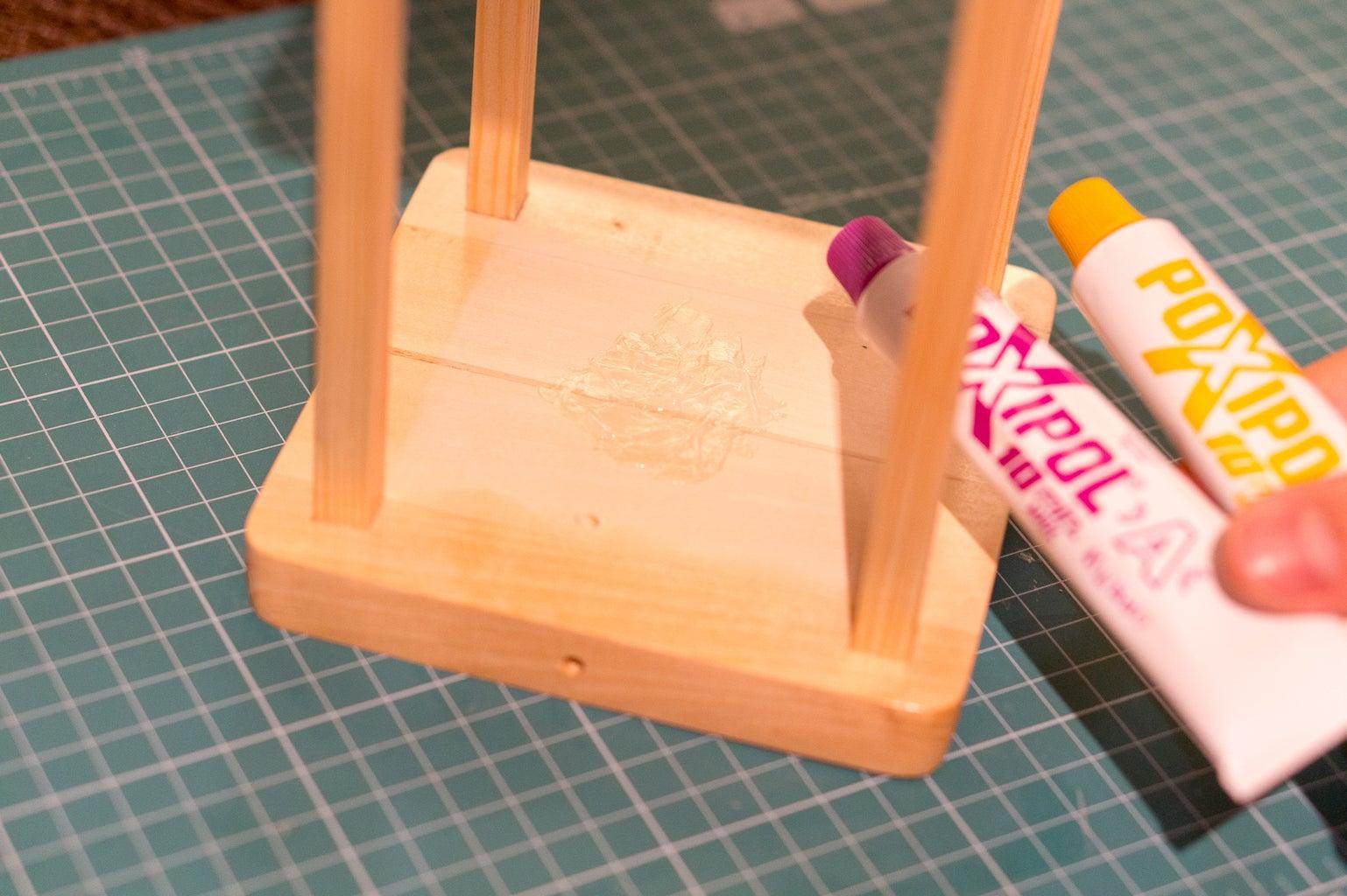 Glue Sensing Plate and Jar Cap
