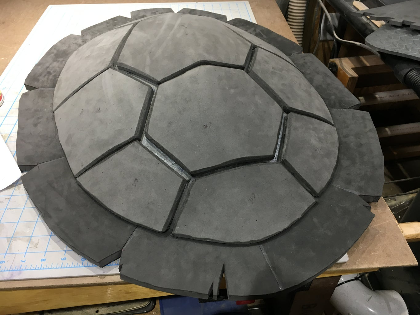The Shell - Tiles and Edging