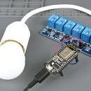 ESP8266 Relay Module – Control AC Appliances (Web Server)
