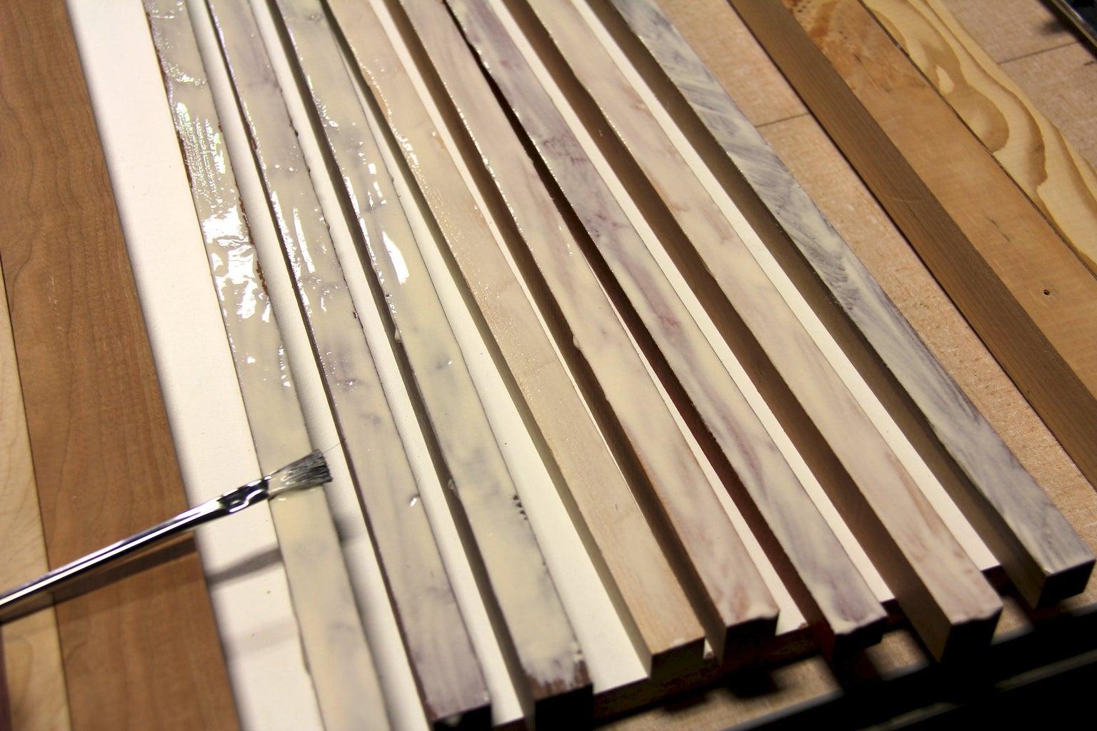 Glue Strips Together