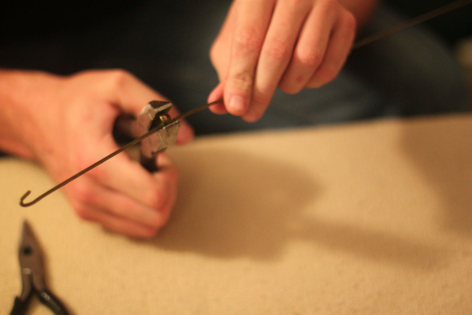 Forming the Wire Hanger