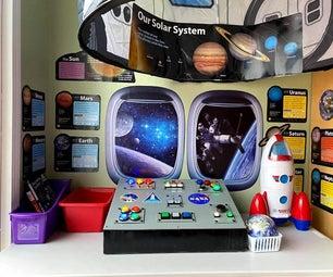 儿童航空航天局控制面板