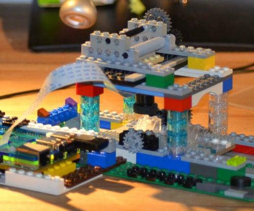 A Raspberry Pi Camera-based Microscope Using LEGO Parts