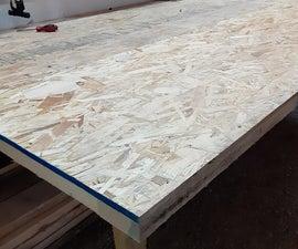 Murphy-style Fold Away Workbench (hingeless)