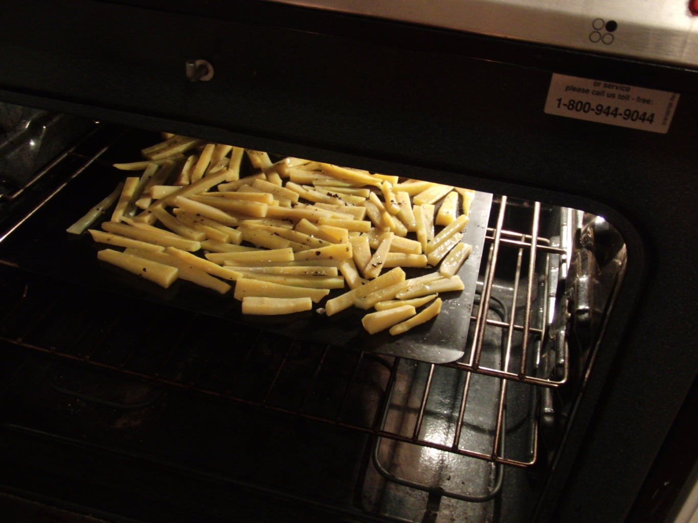 Baking the Fries