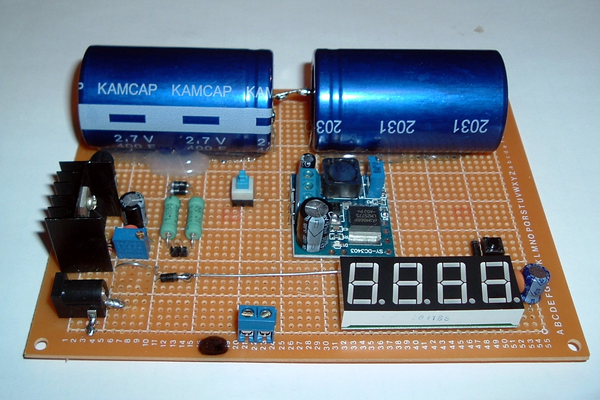 The Forever Rechargeable VARIABLE Super Capacitor Battery !!!