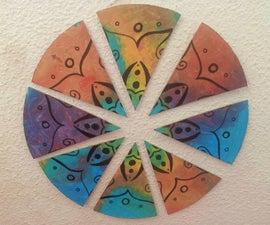Mandala Puzzle-decoration