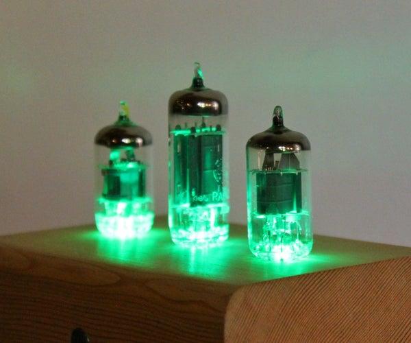 Vacuum Tube Lamp - Sound Reactive