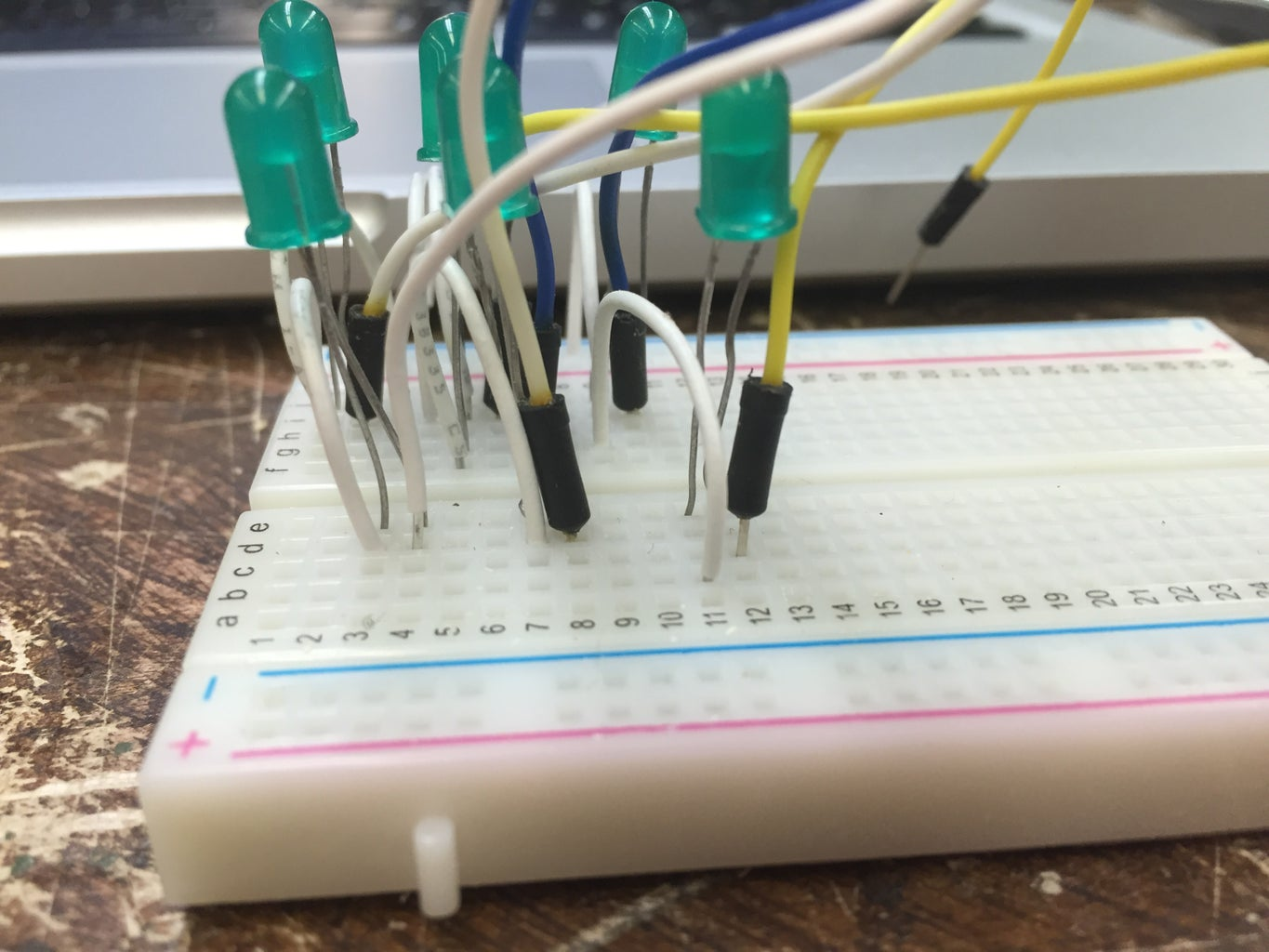 Hook Up the Wires That Will Connect to the Arduino