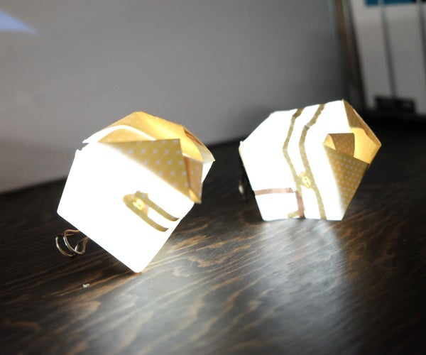 Light Up Paper Cube
