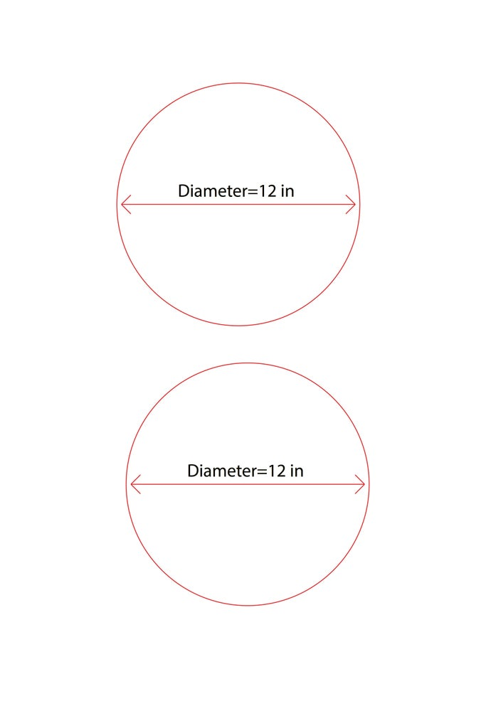 Designing the Acrylic Circles