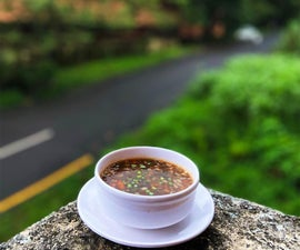 Sizzling Hot and Sour Soup