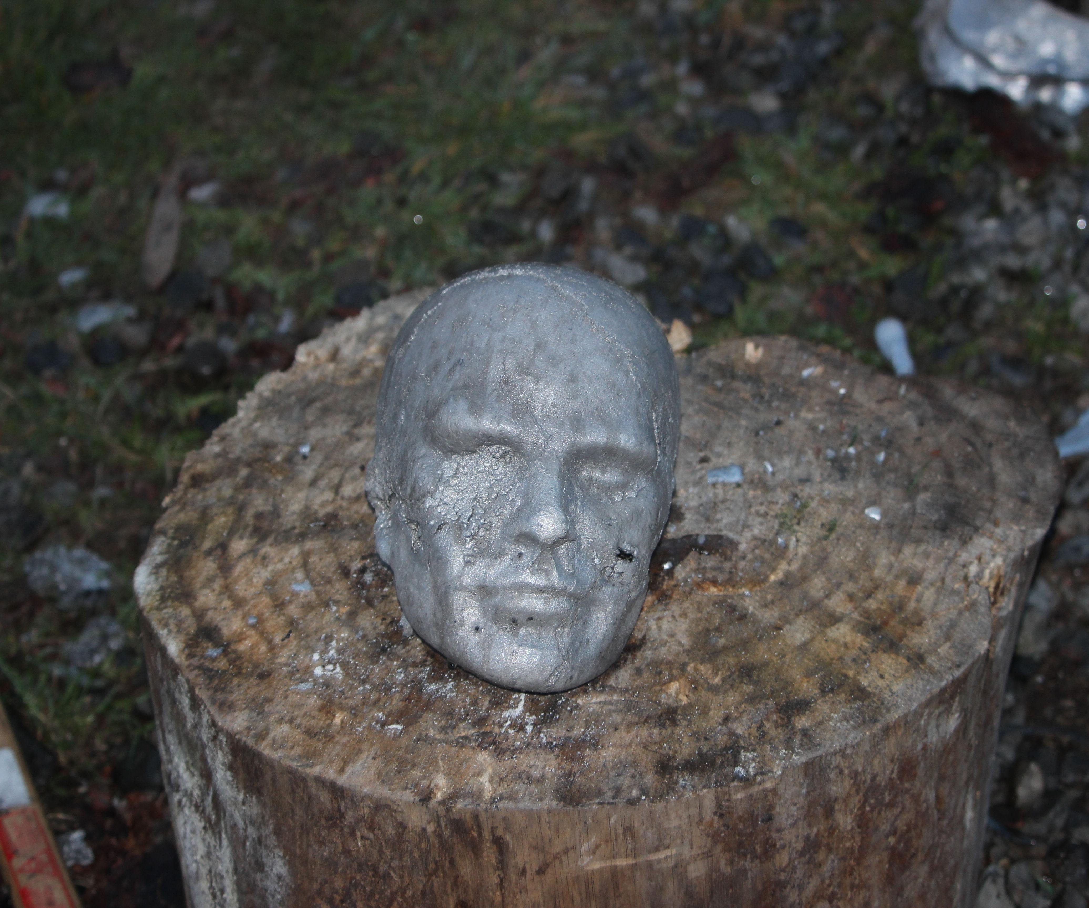 Terminator Graveyard; How To, and How Not to Lost Foam Cast Aluminium