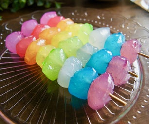Rainbow Jelly Marshmallows