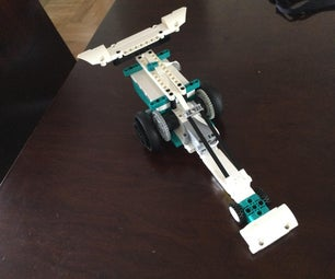 Lego MINDSTORMS 51515 Dragster (original Design by Me)